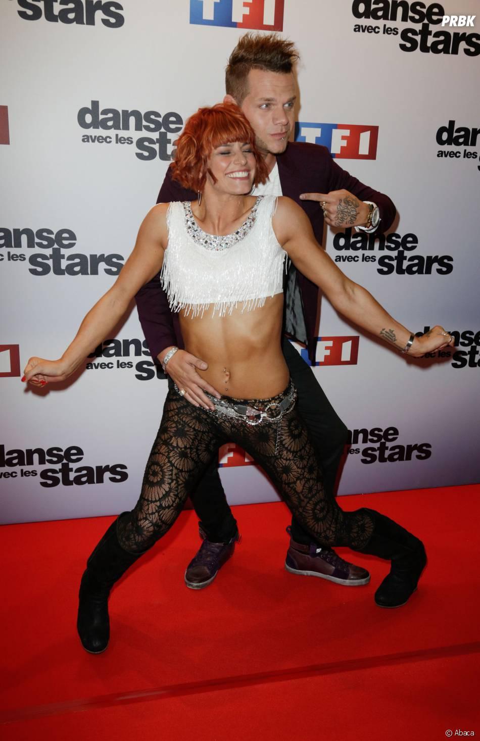 Keen'V encompagnie de Fauve Hautot, sa partenaire de Danse avec les stars 4