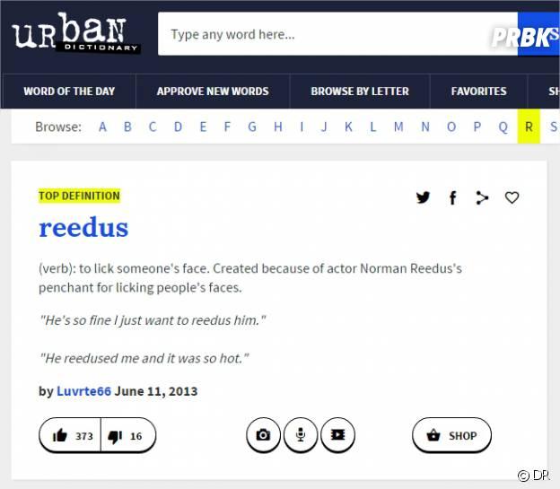 Norman Reedus dans le Urban Dictionary