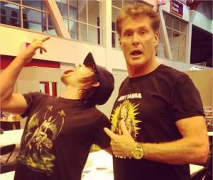 Norman Reedus : son selfie improbable avec David Hasselhoff