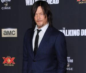 Norman Reedus à l'avant-première de la saison 5 de The Walking Dead