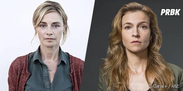 Les Revenentats VS The Returned : Claire (Anne Consigny) / (Tandi Wright)
