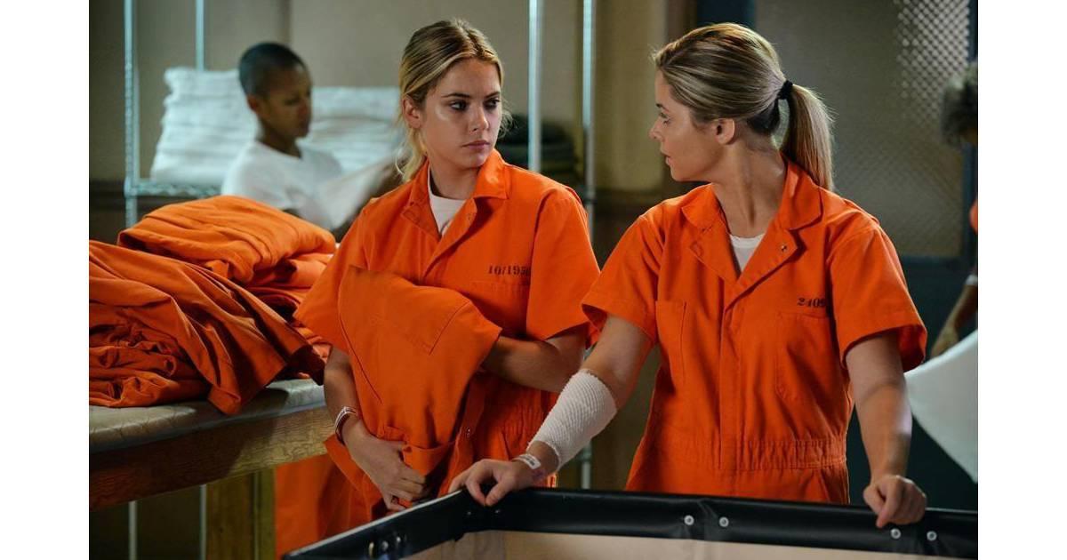 Pretty Little Liars saison 5, épisode 23 : photo avec ...