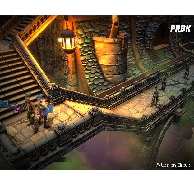 Upsilon Circuit : un jeu dans lequel la mort est réellement permanente