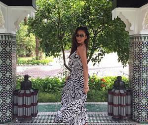 Shay Mitchell en vacances au Maroc