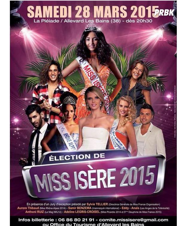 Affiche de l'élection Miss Isère 2015