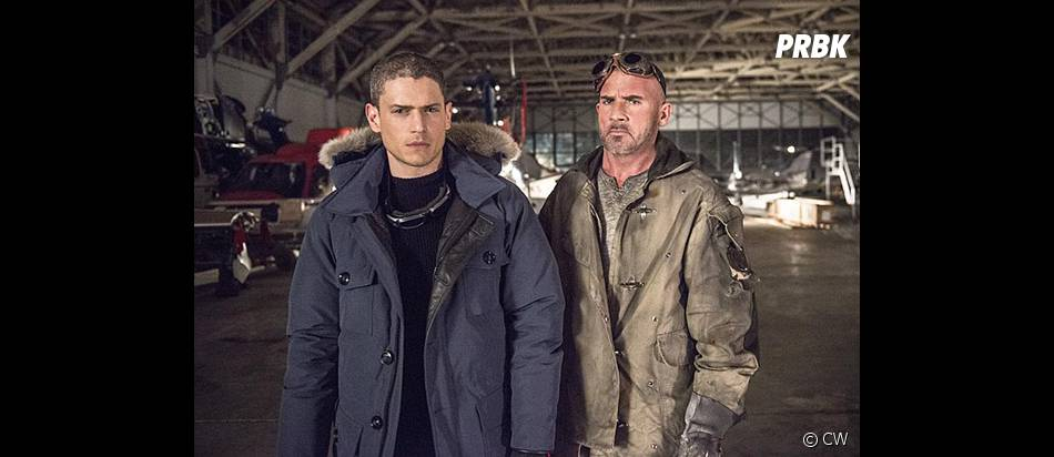 Wentworth Miller et Dominic Purcell réunis dans The Flash