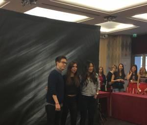 Kevin McHale et Jenna Ushkowitz à la convention Gleek Reunion à Paris le 21 mars 2015