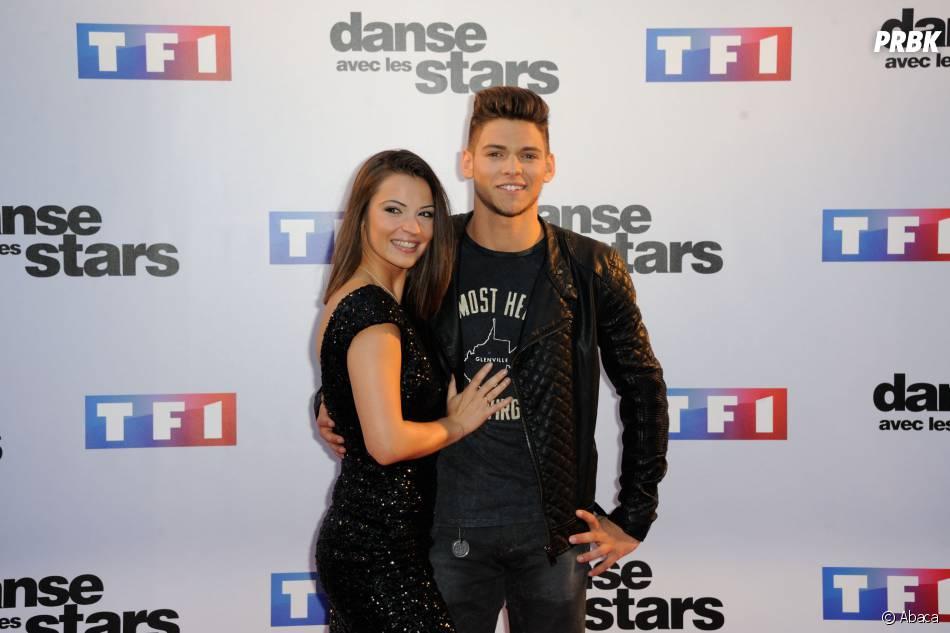 Rayane Bensetti et Denitsa Ikonomova pendant la promo de Danse avec les stars 5
