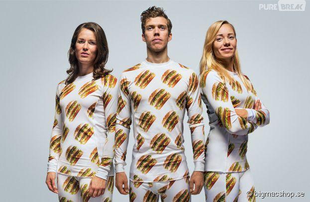 McDonald's : une collection de vêtements et d'accessoires 100% Big Mac en Suède