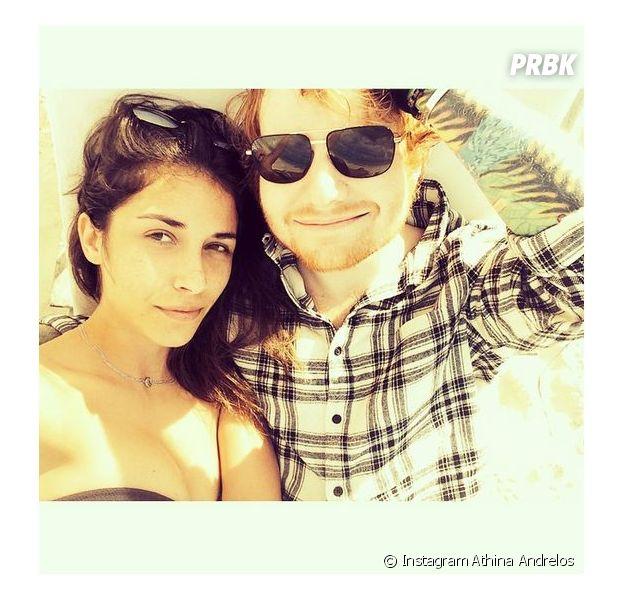 Ed Sheeran et Athina Andrelos : rupture pour le couple