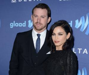 Jenna Dewan (Witches of East End) et son mari Channing Tatym aux GLAAD Media Awards 2015