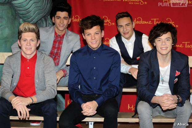 One Direction : leurs statues de cire très ressemblantes au musée de Madame Tussauds de New-York