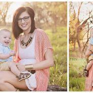Elle photoshoppe le père de son enfant dans ses photos de naissance, la raison est bouleversante