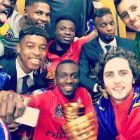 PSG : les joueurs fêtent la victoire en Coupe de la Ligue dans les vestiaires et sur Instagram