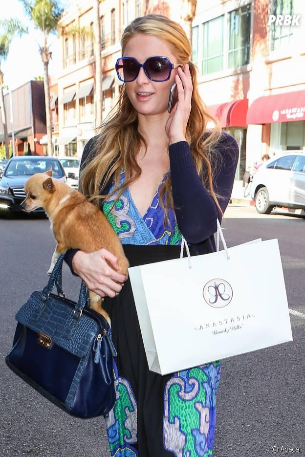 Paris Hilton et son chien