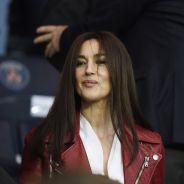 PSG - Barcelone : Monica Bellucci assure le spectacle en tribunes