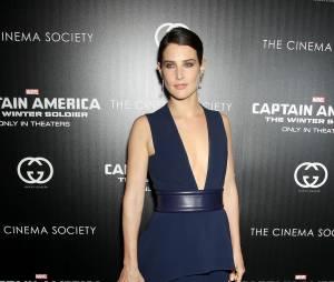 Cobie Smulders sexy lors de l'avant-première de Captain America 2