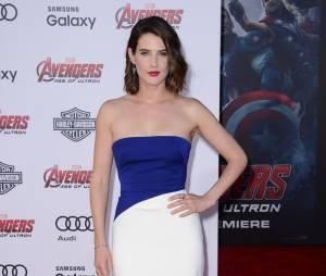 Cobie Smulders lors de l'avant-première de Avengers 2