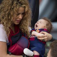 Shakira : son adorable fils Sasha aux couleurs du FC Barcelone pour soutenir Gerard Piqué