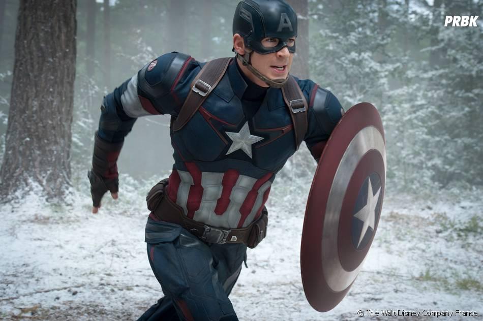 Avengers 2 : Chris Evanssur une photo du film