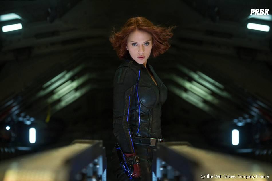 Avengers 2 : Scarlett Johansson sur une photo du film