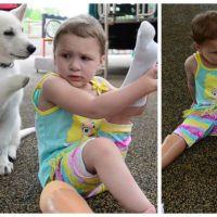 Une enfant sans pieds adopte un chiot à trois pattes : ils sont meilleurs amis et trop mignons