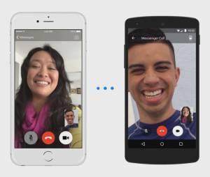 Facebook : les appels vidéo débarquent sur Messenger