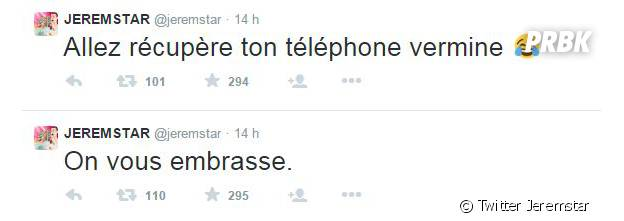Thomas Vergara déclare son amour à Nabilla Benattia... sur le compte Twitter de Jeremstar