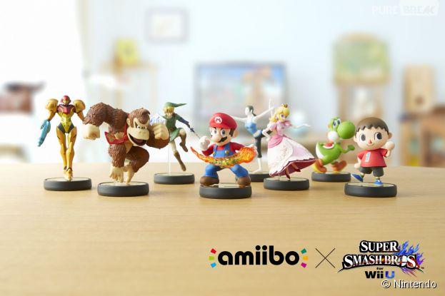 Nintendo : les héros de la firme japonais (ici sous la forme d'Amiibo) vont débarquer dans les parcs d'attractions d'Universal