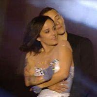 Alizée sexy et complice avec Grégoire Lyonnet au concert Stars 80
