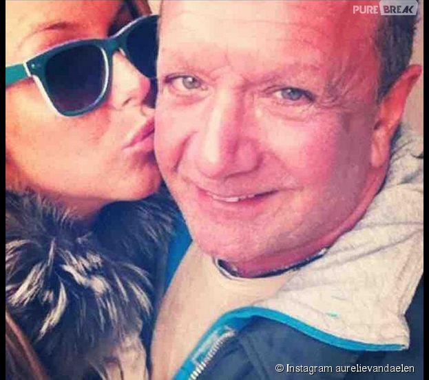 Aurélie Van Daelen : son papa décdé en août 2014