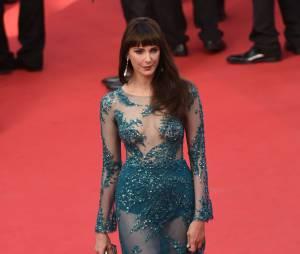 Frédérique Bel sexy sur le tapis rouge, le 13 mai 2015 au Festival de Cannes