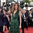 Doria Tellier décolletée sur le tapis rouge, le 13 mai 2015 au Festival de Cannes