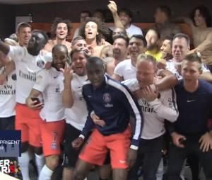 Le PSG fête son 5ème titre de Champion de France