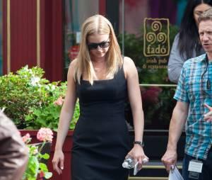 Emily VanCamp sur le tournage de Captain America : Civil War le 14 mai 2015