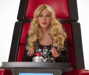 Christina Aguilera en Shakira dans une vidéo promo de la saison 8 de The Voice US