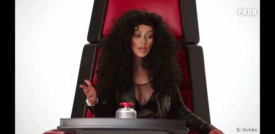 Christina Aguilera en Cher dans une vidéo promo de la saison 8 de The Voice US