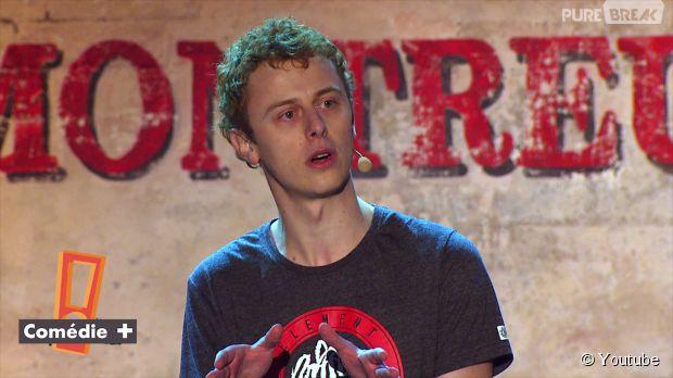 Norman lors de son passage au Montreux Comedy Club