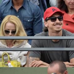 Zlatan Ibrahimovic salué par Djokovic, Amélie Mauresmo enceinte.. Roland Garros envahi par les stars
