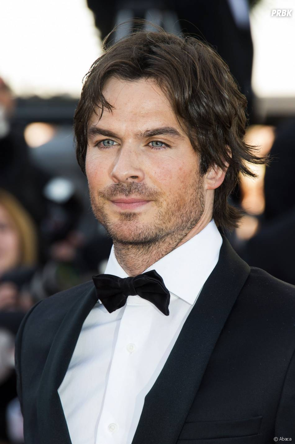 Ian Somerhalder sexy en costume à la projection de Youth, au Festival de Cannes le 20 mai 2015