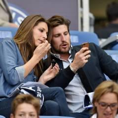 Laury Thilleman en couple et amoureuse pour fêter le quadruplé du PSG