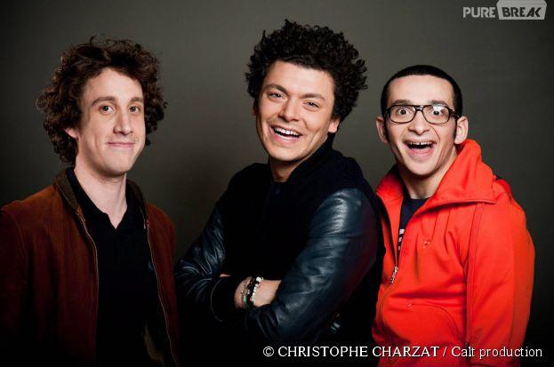Soda : le trio magique Gaël Cottat, Kev Adams et William Lebghil