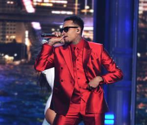 Chris Brown au Billboard Music Awards 2015, le 17 mai, à Las Vegas