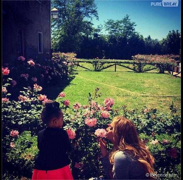 Beyoncé, Jay Z et Blue Ivy en week-end sous le soleil en Italie, mai 2015
