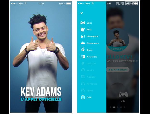 Kev Adams lance son application mobile pour smartphones et tablettes