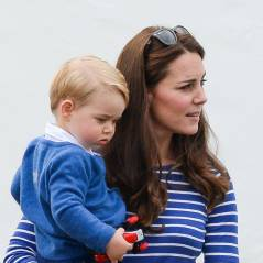 Kate Middleton et Prince George : photos adorables pendant un match de polo