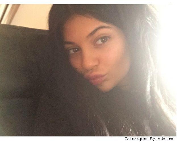 Kylie Jenner sans maquillage sur Instagram, le 19 juin 2015