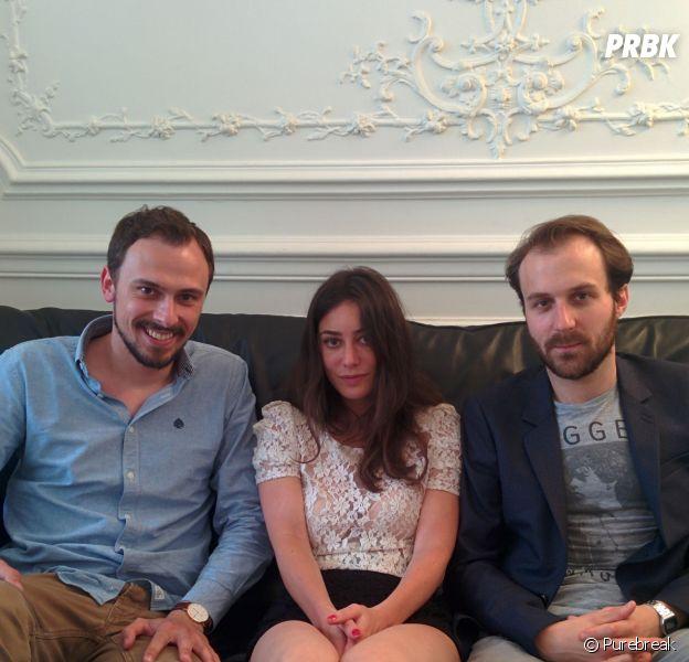 A love you : Paul Lefèvre, Antoine Gouy et Fanny Valette en interview pour Purebreak