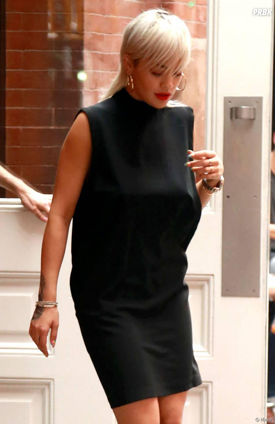 Rita Ora montre tout à New York le 23 juin 2015