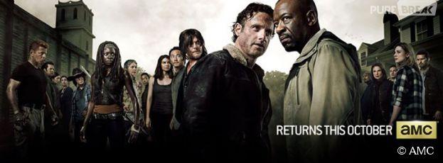 The Walking Dead saison 6 : première photo qui oppose Rick à Morgan